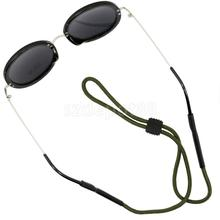 Polyester Sunglasses Neck Strap Eyeglass Glasses String Lanyard Holder Sports Outdoor Activities Retainer Cord(China)