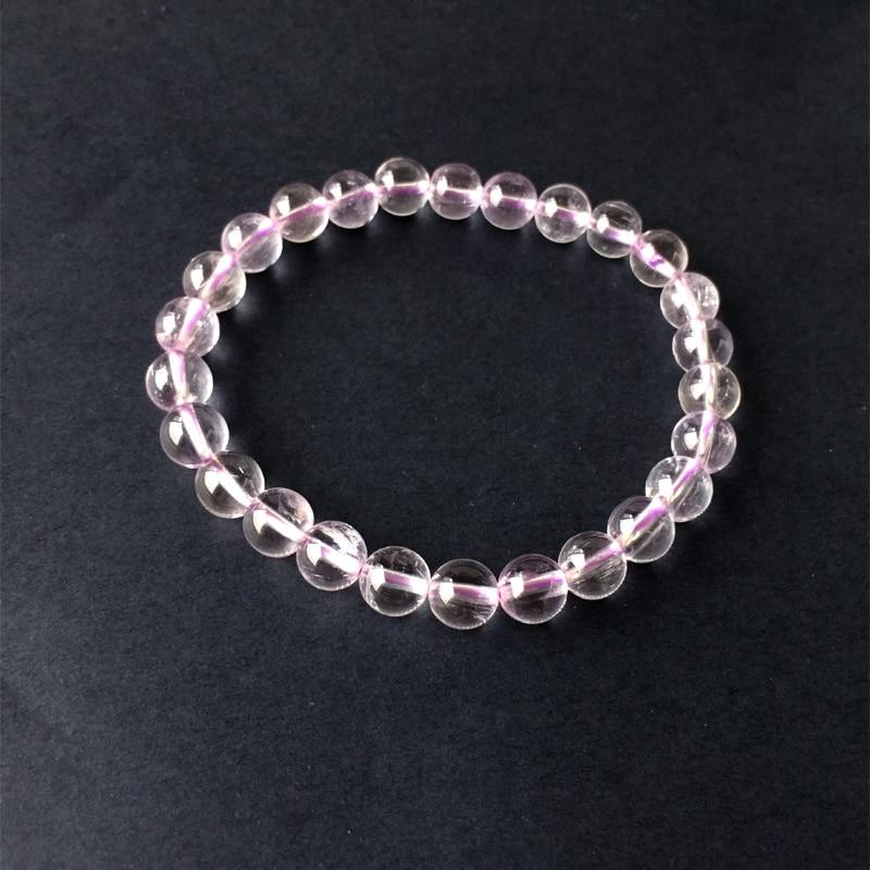 "10 mm MULTICOLORE Kunzite Gemstone Round Beads Bijoux Bracelet 7.5/"" AAA"