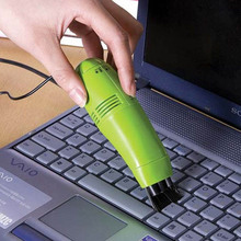 USB Mini Vacuum Cleaner for home Dust Collector Convenience Computer Desktop Keyboard vacuum cleaner brush Dust Cleaning brush(China)