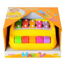 baoli 2 in 1 Piano toy and Xylophone toy with 5 Keys  Children Musical Toy Musical Instrument Xylophone Toy Wisdom Development