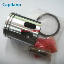 motorcycle piston kit with piston ring piston pin and piston pin lock XH90 LC90 for yamaha 2 stroke XH 90 LC 90cc scooter parts