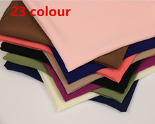 HOT SALE High Quality 23 Nice Color plain bubble chiffon shawl popular muslim hijab head wear fashion women square scarf 90X90cm