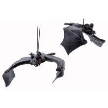 Halloween Entire Simulation Toy Bats Pendant Entire Air Defense Simulation Animals Hot April Fool's Day Halloween Decorations(China)