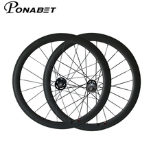 PONABET 700C full carbon 50mm clincher fixed gear(track) wheel with CN spokes from taiwan original company