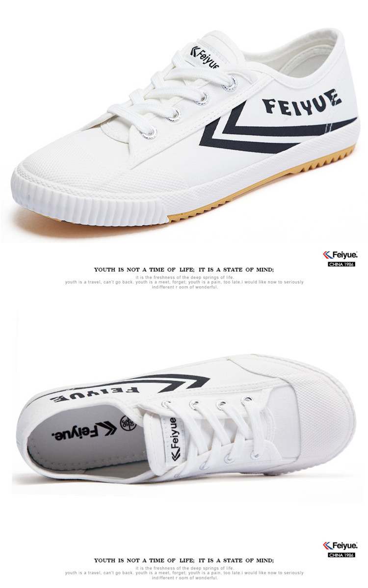 Keyconcept 2018 New Feiyue Classic sneaker men and women leisure white shoes Canvas shoes