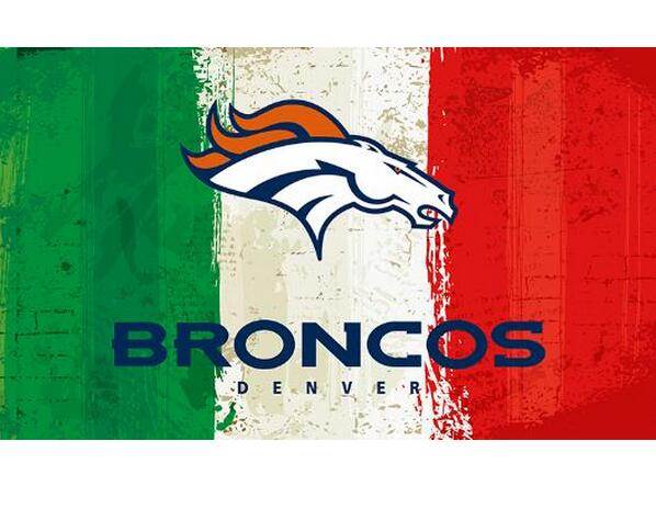3x5ft Green white red Stripes Denver Broncos flag new style oil painting style flag with 2 Metal Grommets 90x150cm(China (Mainland))