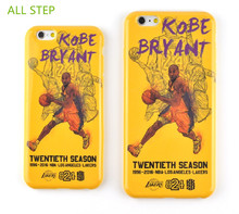 ALL STEP For Iphone 6 6S 6Plus 6SPlus Case NBA Kobe Bryant 20Years Retired Commemorate Limited Edition Soft TPU Phone Case Cover