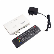 ISDB-T Digital Terrestrial Receiver HD Video Converter Terrestrial Set Top Box For TV Monitor LCD Tuner With Remote Control(China)