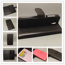 For HTC Desire 620 620G Desire 820 Mini Luxury Litchi leather case cover stand function for with 2 Card Holder and pouch slot
