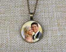 Wholesale Personalized Photo Pendants Wedding Bouquet charms Custom any photo Wedding gifts idea