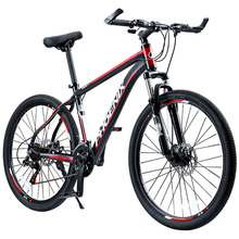 "Phoenix Bicycle 24"" 26"" Double Disc Brake 21 Speed Men's Mountain Bicycle Aluminum Alloy Road MTB Bike Teenage Student Cycling(China)"