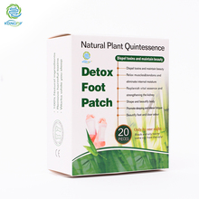 KONGDY 10 Bags/20 Pieces/Box Feet Care Bamboo Vinegar Detox Foot Patch Improve Sleep Detox Slimming Beauty  Slimming Foot Patch