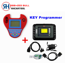 DHL Free Shipping SBB key Programmer V33.02 + Mini Zed Bull Smart Zedbull Key Programmer No Tokens Limitation with Best Price(China)
