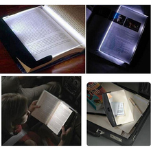 Flat Plate Lighting Lamp Magic Night Lightwedge LED Book Reading Night Light Portable Car Travel Panel Lights(China)