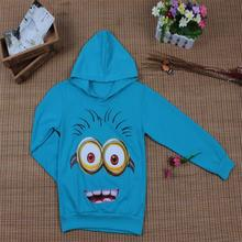 New 2017 t-shirts cartoon little yellow boys t shirts, girls nova sweatshirts, kids children clothes Autume Spring Tops & Tees