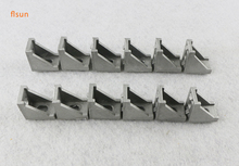 12pcs/lot metal frame 3d printer parts 2020 Aluminium Profile Corners Screws Set, 2028 Corners Reinforced bracket(China)