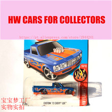 New Arrivals 2017 Hot 1:64 Car wheels Custom 72 Chevy LUV talladega Metal Diecast Cars Collection Kids Toys Vehicle For Children
