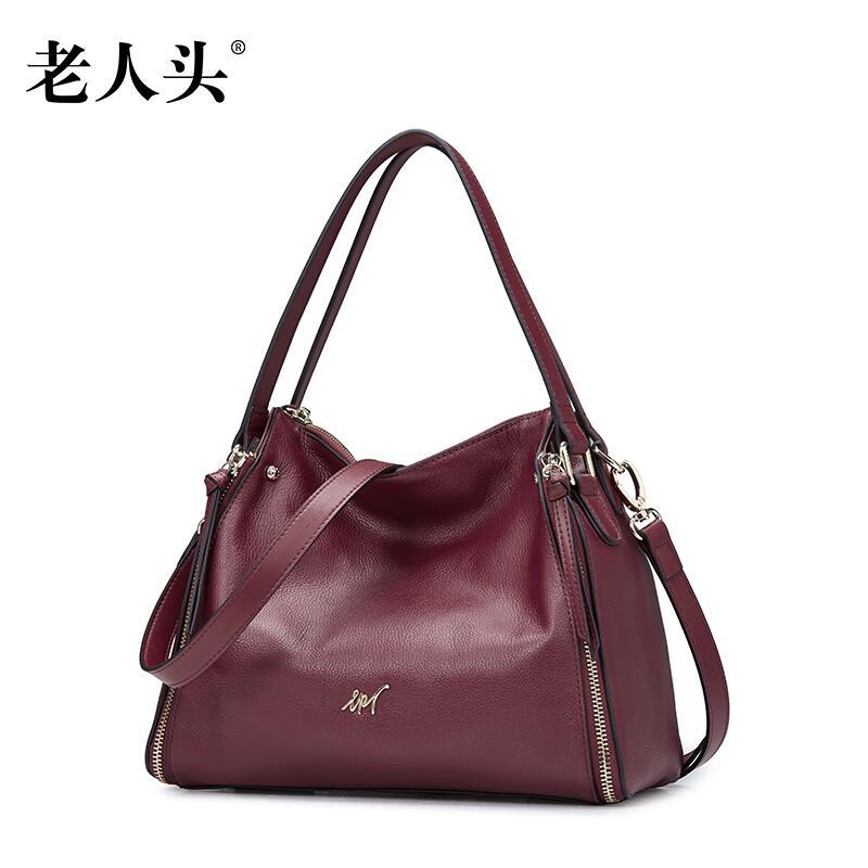 LAORENTOU New women leather bag famous brands fashion Casual Simple doctor bag women leather handbags shoulder bag<br><br>Aliexpress