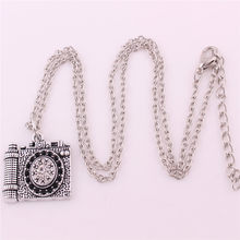 Pendant Necklace For Women Men Special Design Camera Shape Charm With Crystals Personality Zinc Alloy Provide Dropshipping(China)