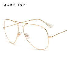 MADELINY Classic Women Glasses New Fashion Brand Designer Glasses Clear Lens Unisex  Glasses  oculos  feminino MA021