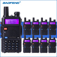 8pcs/lot BAOFENG UV-5R Walkie Talkies Dual Band VHF UHF UV5R 2-Way Radios Portable Walkie Talkie Two-way Ham Radio Transceiver