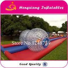 Fashionable sports entertainment football inflatable body zorb ball with size 2.5m