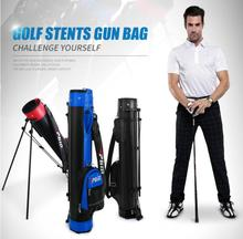 High quality! Professional Golf Gun Bag Portable Big Capacity Golf Rack Bags 13 Clubs Contained Club Equipments Accessories