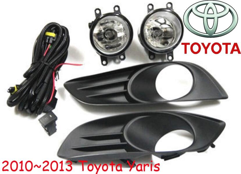 car-styling,Yaris halogen light,2006~2013,Free ship!2pcs/set,Yaris fog light;car-covers,Yaris headlight,Yaris L<br>