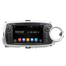 "7"" Android Car DVD Player with TV/BT GPS 3G WIFI,Car PC/multimedia headunit Audio/Radio/Stereo for Toyota YARIS 2012-2013(China)"