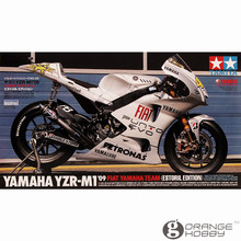 OHS Tamiya 14120 1/12 YZR-M1'09 Estoril Edition Scale Assembly Motorcycle Model Building Kits