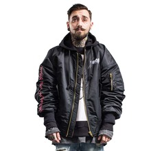Inflation jacket winter Europe and the United States new tide brand men's embroidered five mans magic array MA1 pilot jacket men