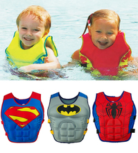 Children Life Vest Batman Style Kids Life Jacket Buoyancy Safe Vest Pool Water Lifejacket Baby Swimsuit Kids Swimming Lifevest