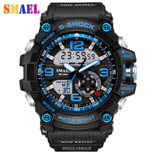2017 New Brand Fashion wristwatches Men G Style Waterproof Sports Military Watches S Shock Luxury Analog Digital Sports Watches