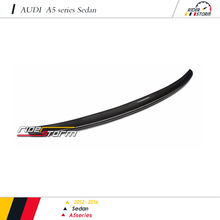 S5 Design style Carbon Fiber Auto Tuning Spare Parts Car racing kit Rear Wing Spoiler for audi A5 Sedan 2012-2016