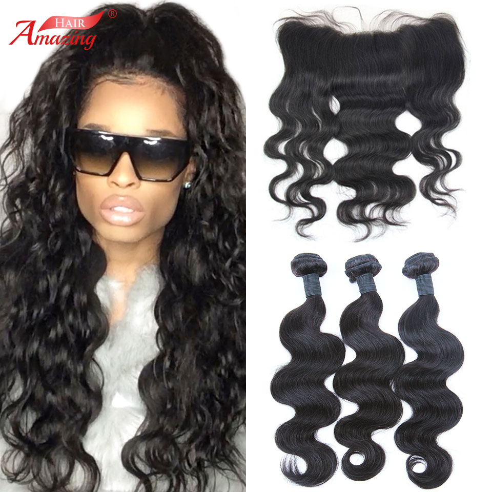 Brazilian body wave sew in hairstyles