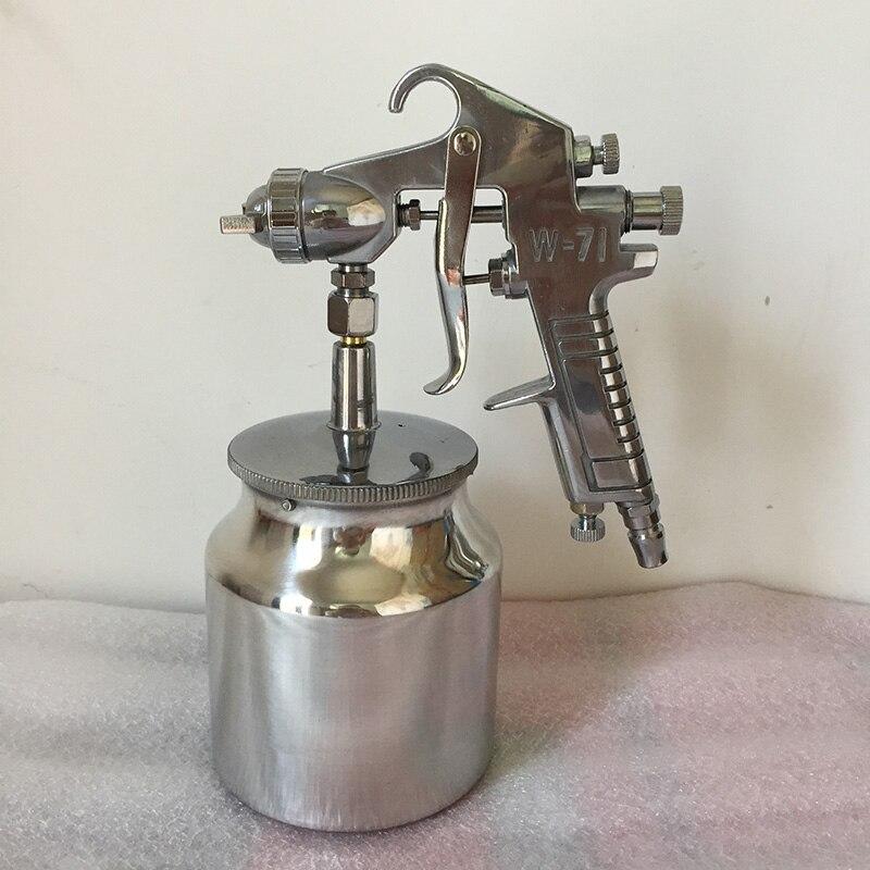 SAT1263L Suction Feeding Spray Gun Air Painting Tool High Pressure Pneumatic Car Paint Spray Gun<br>