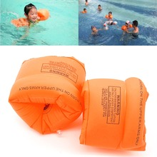 One Pair High quality PVC Swimming Arm Band Ring Floating Inflatable Air Sleeves Adult/child OOTDTY