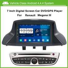 Android 4.4.4 System Car DVD Video Player For Renault Megane III Fluence With GPS Navigation,Speed 3G, enjoy the Built-in WiFi
