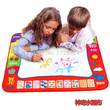 Children Water Drawing Toys Mat Aquadoodle Mat&Water Drawing board/baby play mat kids stencil children 's education toys