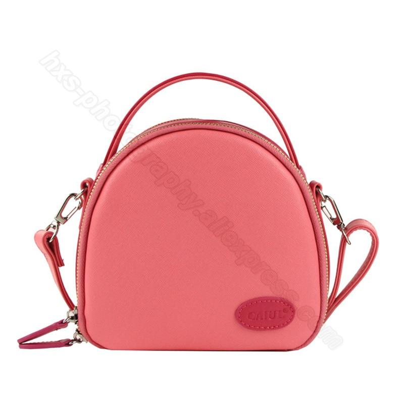 shell bag pink