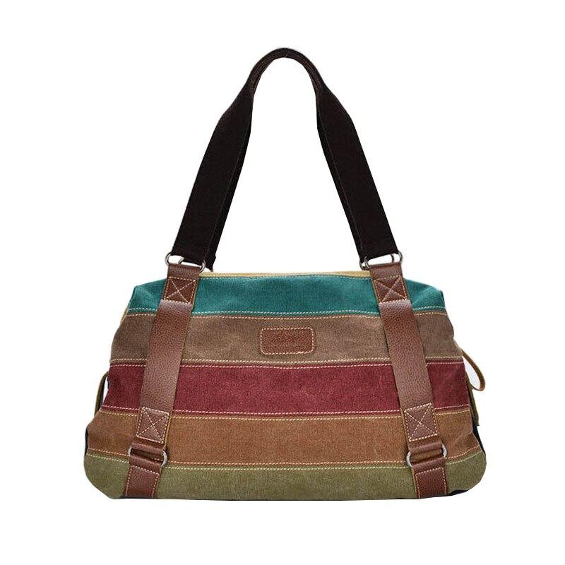 Large Canvas Bag Women Handbag Ladies Casual Shopping Bags Fashion Patchwork Crossbody Shoulder Bag Purple bolsa mujer XA546C<br><br>Aliexpress