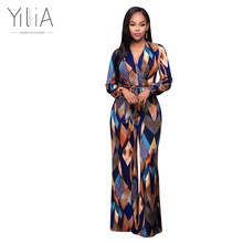 Yilia New Women Romper Bohemian Print Jumpsuit Summer Autumn Long Overalls Jumpsuit Female Chest Wrapped Strapless Wide Leg Pant(China)