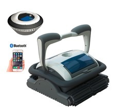Swimming pool cleaner with battery floating/cleaning 2H,Bluetooth control via smart phone, Self-diagonstic.