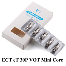 Buy Electronic Cigarette Vape Box Mod Atomizer Core Original ECT eT 30P Colil VOT Mini atomizer Coil 0.3ohm X2018 for $5.72 in AliExpress store