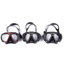 2016 Hot Sales Professional Spearfishing Liquid Silicone Diving Glasses Scuba Hyperopia Myopia Swimming Mask Goggle Diving Masks(China)