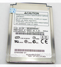 "NEW 1.8"" CF/PATA (MK6006GAH) 60GB 4200RPM Hard Drive replace MK8007GAH MK4006GAH MK4004GAH for laptop IPOD, Free shipping(China)"