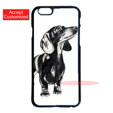 Dackel Dachshund Cover Case for LG G3 G4 iPod 5 Samsung Note 3 4 5 S3 S4 S5 Mini S6 S7 Edge Plus iPhone 4 4S 5 5S 5C 6 6S 7 Plus
