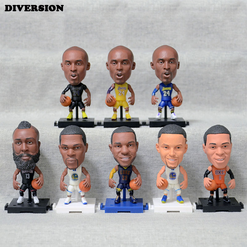 All star figure Stephen Curry Basketball player Model Figurine mannequins Toy Golden State Warriors NO.30 Curry christmas(China)