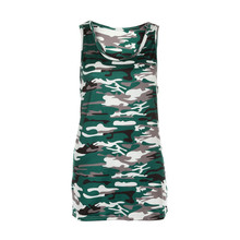 Tank Top 2017 Sexy Women Camouflage Party Vest Top Clubbing Ladies Army Shirt No Belt Camisole Feminina Green Fashion May 23(China)