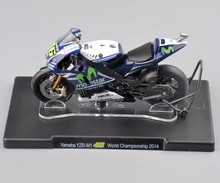1/18 Scale Yamaha YZR-M1 46# World Championship 2014 Motorcycle Model Toys Children Gifts Collections(China)